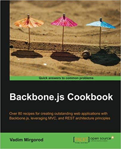 Backbone.js Cookbook cover